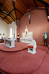 The pulpit of Saint Patrick's Church in Granlahan, County Roscommon, Ireland on Tuesday, June 25th 2013. (Photo by Brian Garfinkel)