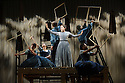 London, UK. 16.09.2015. JANE EYRE, a co-production with the Bristol Old Vic, directed by Sally Cookson, opens at the National Theatre. Picture shows: Madeleine Worrall (Jane Eyre) and the company. Photograph © Jane Hobson.