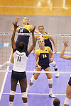 State College, PA - 12/7/2007:  Penn State defeated Michigan 3-0 in the third round of the NCAA Women's Volleyball Tournament at Rec Hall on the Penn State University campus on Friday, December 7, 2007...Michigan 0.Penn State 3 ..Photos (c)2007 Joe Rokita Photography