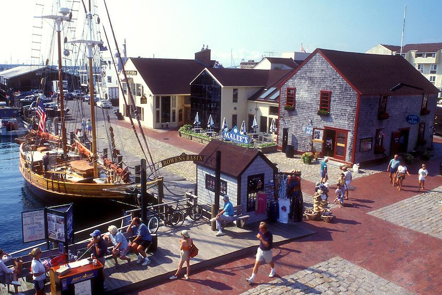 Image result for bowen's wharf, newport, ri