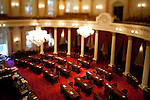 The Senate Chambers in the State Capitol, Sacramento, Calif. August 23, 2010.