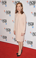 Isabelle Huppert at the &quot;Elle&quot; 60th BFI London Film Festival Official Competition screening, The Embankment Garden Cinema, Villiers Street, London, England, UK, on Saturday 08 October 2016.<br /> CAP/CAN<br /> &copy;CAN/Capital Pictures /MediaPunch ***NORTH AND SOUTH AMERICAS ONLY***