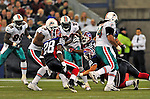 7 December 2008: Miami Dolphins' running back Ronnie Brown in action during the first regular season NFL game ever played in Canada. The Dolphins defeated the Buffalo Bills 16-3 at the Rogers Centre in Toronto, Ontario. ..Mandatory Photo Credit: Ed Wolfstein Photo
