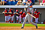 8 March 2009: New York Mets' infielder Ike Davis in action during a Spring Training game against the Washington Nationals at Space Coast Stadium in Viera, Florida. The Nationals defeated the Mets 8-3 in the Grapefruit League matchup. Mandatory Photo Credit: Ed Wolfstein Photo