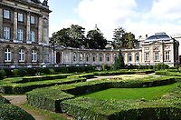 The Royal Palace in the centre of Brussels, Belgium is open to the public during the summer months.