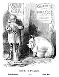 The Rivals. Prize Peasant, versus Prize Pig.