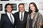 Michael Greif with son Noah and daughter Hannah attend New York Theatre Workshop's 2017 Spring Gala at the Edison Ballroom on May 15, 2017 in New York City.