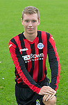Brodie Gray, St Johnstone FC...Season 2014-2015<br /> Picture by Graeme Hart.<br /> Copyright Perthshire Picture Agency<br /> Tel: 01738 623350  Mobile: 07990 594431