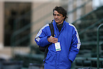 04 December 2009: Los Angeles Sol head coach Abner Rogers. The Stanford University Cardinal defeated the University of California Los Angeles Bruins 2-1 in sudden victory overtime at the Aggie Soccer Complex in College Station, Texas in an NCAA Division I Women's College Cup Semifinal game.