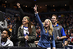 MILWAUKEE, WI - MARCH 16:  Middle Tennessee Blue Raiders fans celebrate during the 2017 NCAA Men's Basketball Tournament held at BMO Harris Bradley Center on March 16, 2017 in Milwaukee, Wisconsin. (Photo by Jamie Schwaberow/NCAA Photos via Getty Images)