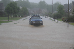 Flash flooding in Notting Hill in Oxford, Miss. on Wednesday, April 27, 2011.