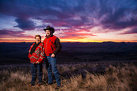 Phil and Nancy Wilson, Wilson Ranch Retreat near Fossil Oregon