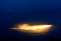 Mystical golden sunrise ring of kerry ireland /kr041