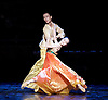 Shanghai Ballet <br /> Echoes of Eternity <br /> at the London Coliseum, London, Great Britain <br /> rehearsal <br /> 17th August 2016 <br /> based on the poem Song of Everlasting Sorrow <br /> choreography by Patrick de Bana <br /> <br /> QI Bingxue as Lady Yang <br /> WU Husheng as Emperor <br /> <br /> <br /> <br /> Photograph by Elliott Franks <br /> Image licensed to Elliott Franks Photography Services