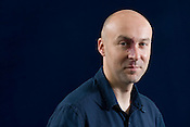 Christopher Brookmyre, Scottish best selling crime writer/ author. Edinburgh International Book Festival, Edinburgh, Scotland. Edinburgh is the inaugural UNESCO City of Literature.