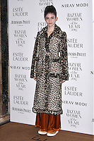 LONDON, ENGLAND - OCT 31: Grimes at Harper's Bazaar annual Women of the Year Awards, which celebrates female high-fliers, at Claridge's on October 31st, 2016 in London, England.<br /> CAP/JOR<br /> &copy;JOR/Capital Pictures /MediaPunch ***NORTH AND SOUTH AMERICA ONLY***