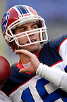31 December 2006: Buffalo Bills backup quarterback Craig Nall warms up prior to a game against the Baltimore Ravens at M&amp;T Bank Stadium in Baltimore, Maryland. The Ravens defeated the Bills 19-7. Mandatory Photo Credit: Ed Wolfstein Photo.<br />