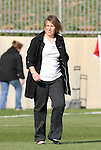 11 April 2009: Chicago head coach Emma Hayes (ENG). The Washington Freedom played the Chicago Red Stars to a 1-1 tie at the Maryland SoccerPlex in Boyds, Maryland in a regular season Women's Professional Soccer game.