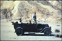 BNPS.co.uk (01202 558833)<br /> Pic: Brightwells/BNPS<br /> <br /> This vintage motor that starred in the dramatic chase scene at the end of Indiana Jones and the Last Crusade is set to send film-loving petrol-heads flocking to the auction room.<br /> <br /> The 1928 Renault Type NN Tourer features in the 1988 blockbuster's iconic final sequence where Indy, on horseback, is chased by a tank as Nazis try and beat him to the Holy Grail. <br /> <br /> At the start of the ten minute scene antagonist Walter Donovan, played by Julian Glover, can be seen staking Jones with a pair of binoculars from the Renault's passenger seat. <br /> <br /> The Type NN will be sold by auctioneer Brightwells, which estimates it to be worth &pound;13,000, on May 17.