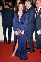 LONDON, UK. October 31, 2016: Brooke Vincent at the Pride of Britain Awards 2016 at the Grosvenor House Hotel, London.<br /> Picture: Steve Vas/Featureflash/SilverHub 0208 004 5359/ 07711 972644 Editors@silverhubmedia.com