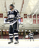 Courtney Birchard (UNH - 24) - The Boston College Eagles and the visiting University of New Hampshire Wildcats played to a scoreless tie in BC's senior game on Saturday, February 19, 2011, at Conte Forum in Chestnut Hill, Massachusetts.