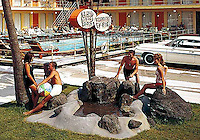 Tahiti Motel in Wildwood Crest New Jersey Tahiti Motel in Wildwood Crest, New Jersey. 1960's photographs.