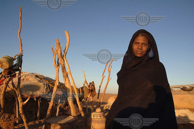 Tesheri, a young woman from Almoustrat village.