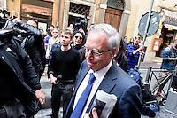 Roma  23 Aprile 2013.Si riunusce  la direzione nazionale del Partito Democratico. Guglielmo Epifani