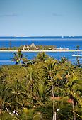 Ile aux Canards devant la plage de l'Anse-Vata, Nouméa, Nouvelle-Calédonie