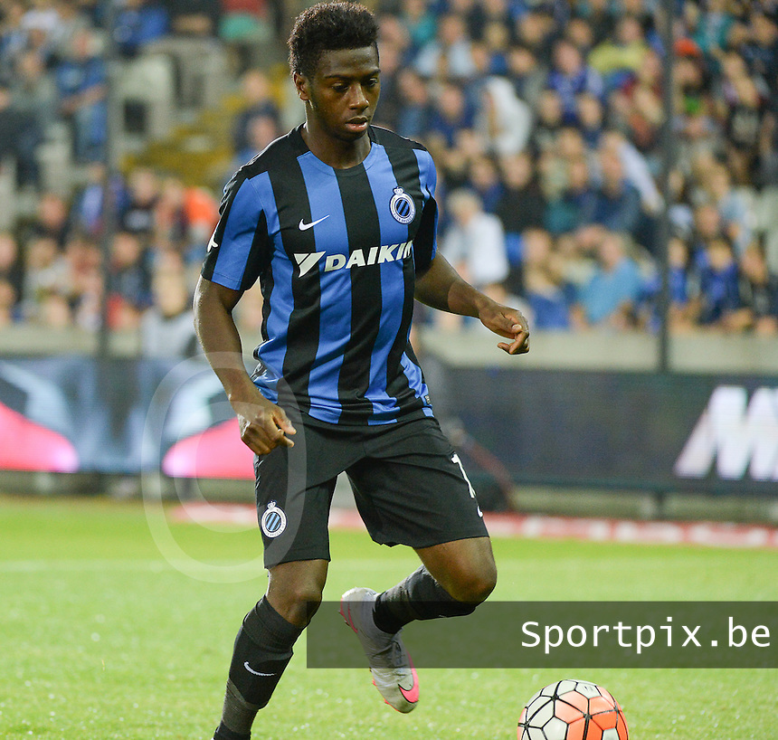 Club Brugge - KV Kortrijk : Abdoulay Diaby <br /> Foto VDB / Bart Vandenbroucke