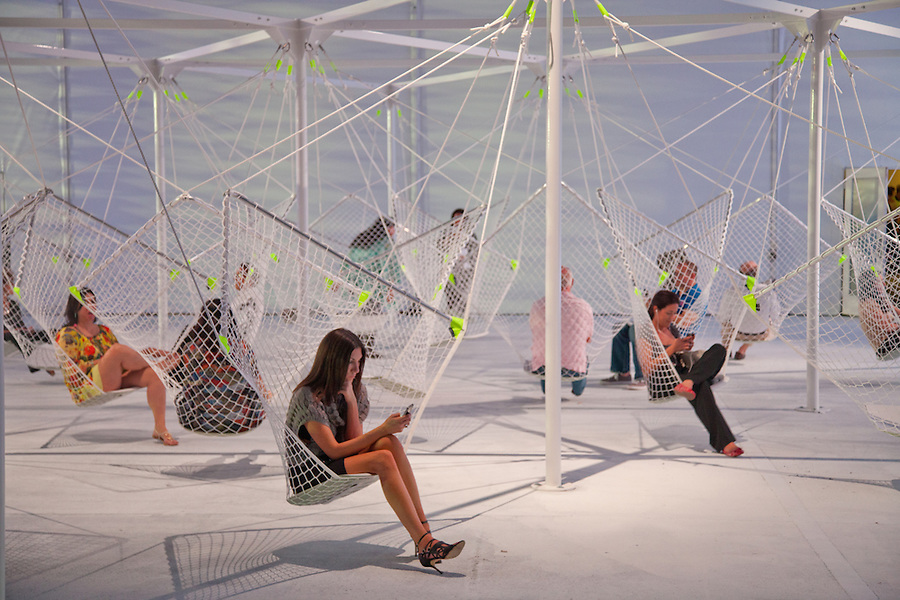 Design Miami Tent. Designed by Moorhead and Moorhead. Photo by Robin Hill (c)