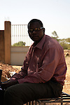 """Nassina, trainer, Bamako..What do you think about Barak Obama? """"One has to recognise that Martin Luther King's dream has become reality. His dream was feasible. He is American but the colour of his skin makes the difference. However, he will remain for me an American citizen."""""""