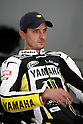 February 4, 2010 - Kuala Lampur, Malaysia - American rider Colin Edwards (Yamaha Tech 3) takes a break after testing on Sepang International Circuit on February 4, 2010. (Photo Andrew Northcott/Nippon News)