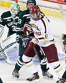 Ryan Bullock (Dartmouth - 23), Kevin Hayes (BC - 12) - The Boston College Eagles defeated the visiting Dartmouth College Big Green 6-3 (EN) on Saturday, November 24, 2012, at Kelley Rink in Conte Forum in Chestnut Hill, Massachusetts.