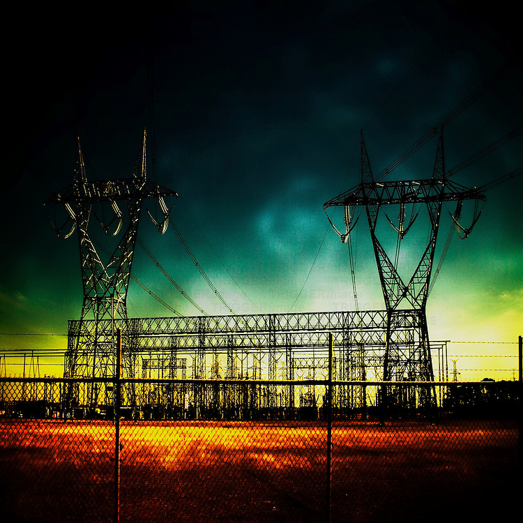 Electric sub station