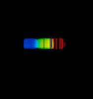SPECTRUM ANALYSIS OF NEON:<br /> Neon Absorption Spectrum<br /> Without nanometer scale.