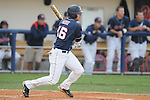 Mississippi's Matt Smith singles home Tim Ferguson vs. Murray State in college baseball action at Oxford-University Stadium in Oxford, Miss. on Tuesday, April 27, 2010.