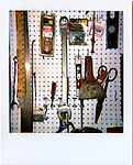 Mike Eberspecher's tools hang in the garage adjoining the family's apartment in Douglas, Wyoming...Scenes from around Douglas, Wyoming...Alzheimers.  Douglas, Wyoming..Mike Eberspecher was diagnosed at 60 with early onset Alzheimers.  The disease, a subset of dimentia, gradually impairs the brain's ability to form new memories, simultaneously undoing connections that make up old memories.  Patients generally experience memory loss from the present, backwards.  Early onset Alzheimers tends to progress quicker in younger patients. ..Carolyn Eberspecher has been caring for her husband, Mike, for the last five years.  Over time, he has gradually lost his ability to care for himself and relies on her for most of his needs.  In April of 2010, Carolyn will place her husband in an Alzheimer's care unit in the town's nursing home.  .Carolyn Eberspecher attends church in Douglas, Wyoming.  Carolyn and Mike attend separate churches.  After Mike was diagnosed with Alzheimers, he returned to attending Mormon church, a tradition which had fallen by the wayside for most of his adult life.
