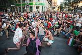 Fans in Budapest während des EM-Spiels Ungarn-Island / Fans during the European Championship Hungary-Iceland match