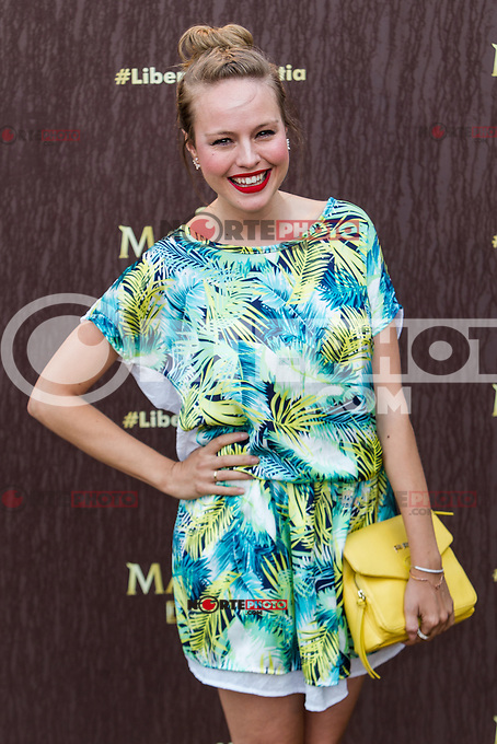 Esmeralda Moya during the launch party for the new range of Magnum ice cream at  ME Hotel Reina Victoria. Jun 15,2016. (ALTERPHOTOS/Rodrigo Jimenez) /NortePhoto.com