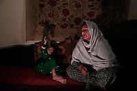 The only known female Mujahideen commander, Kaftar, was once the leader of a 600-strong armed force. Today she can&rsquo;t even leave the safe house where she is staying as a guest along with her 3-year-old granddaughter, Bibi Zora. Her enemies, mostly from the neighboring village, are looking for her to settle an old score. According to local accounts, her husband failed to avenge the murder of a relative &ndash; Bibi, as she is called by her eight children, took matters into her own hands and soon after enlisted with the Jamiyat-e-Islami forces of Ahmad Shah Massoud&rsquo;s forces at the height of the Soviet invasion of Afghanistan in the early 80&rsquo;s. Born in Bahglan province, Kaftar is proud to have never surrendered to the Taliban &ndash; in fact, her area of operations never fell to the militants onslaught. Like many other Jihadi commanders, Kaftar surrendered her weapons as part of the UN Disbandment of Illegal Armed Groups program (DIAG) &ndash; however, she kept some small arms for herself and her personal guards. One of these weapons is her Russian-made Makarov pistol, which she always carries on a holster under her shoulder. <br />