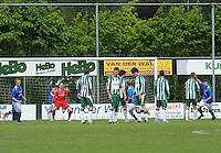 VOETBAL: JOURE: Sportpark Hege Simmerdyk, 26-05-2013, Nacompetitie, SC Joure - Hoogeveen, Eindstand 2-2, ©foto Martin de Jong