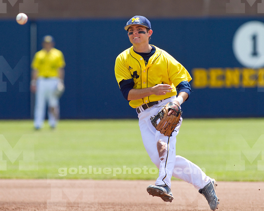 University of Michigan baseball 6-2 loss to Minnesota at Ray Fisher Stadium in Ann Arbor, MI, on May 8, 2011.