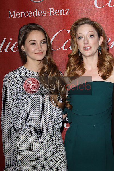Shailene Woodley and Judy Greer<br />