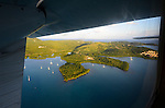 Culebra, Puerto Rico.View from the air