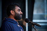 Kumi Naidoo, Executive Director of Greenpeace. (Images free for Editorial Web usage for Fresh Air Participants during COP 15. Credit: Robert vanWaarden)