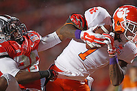 Ohio State Buckeyes cornerback Armani Reeves (26) cannot stop Clemson Tigers wide receiver Martavis Bryant (1) in for a TD in the second quarter in the 2014 Discover Orange Bowl at Sun Life Stadium in Miami Gardens, Florida on January 3, 2014. (Chris Russell/Dispatch Photo)