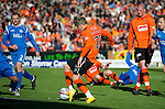 Dundee Utd v St Johnstone...25.09.10  .David Goodwillie scores the only goal of the game.Picture by Graeme Hart..Copyright Perthshire Picture Agency.Tel: 01738 623350  Mobile: 07990 594431