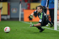 FUSSBALL   1. BUNDESLIGA   SAISON 2012/2013    20. SPIELTAG Bayer 04 Leverkusen - Borussia Dortmund                  03.02.2013 Torwart Bernd Leno (Bayer 04 Leverkusen)