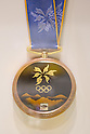JULY 26, 2011 - Bronze medal for Nagano winter Olympics : History of the Olympics in Japan at Japan Mint in Osaka, Japan. (Photo by AFLO) [1080]